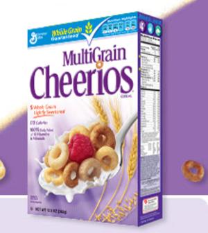 get Multi-Grain Cheerios $1 Off Multi Grain Cheerios