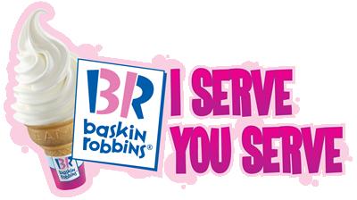 Baskin Robbins Free ice cream cone Money Saving Mom