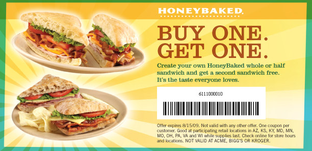 graphic about Honey Baked Ham Printable Coupons identified as Coupon codes for honey baked ham within just california - Dillards coupon