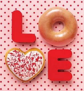 ... Kreme: Buy a dozen doughnuts, Get 12 free Valentine's doughnuts