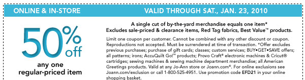 Joanns-coupon